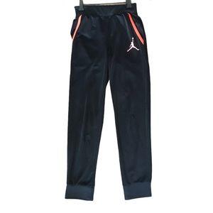 Nike Jordan Boys Medium 10-12 Black Jogger Pants